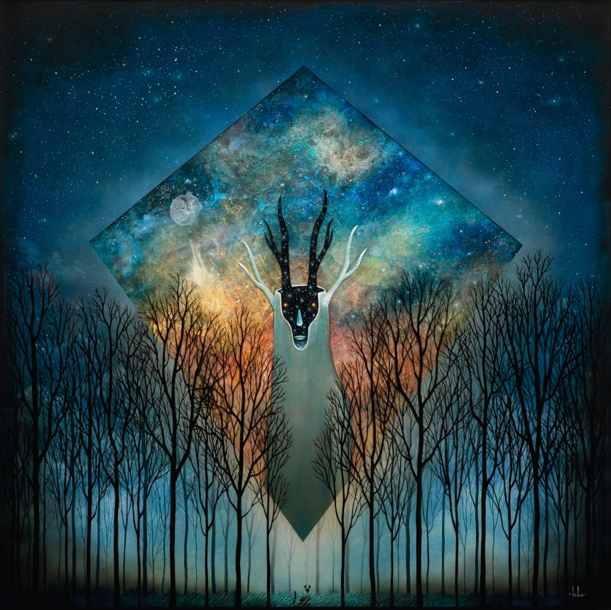 Transdimensional Emissary by Andy Kehoe; for more information, visit http://andykehoeart.com