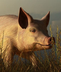 """The Pink Pig,"" by Daniel Eskridge"
