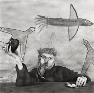 Artist: Roger Ballen; for more information, visit http://www.asylumofthebirds.com/