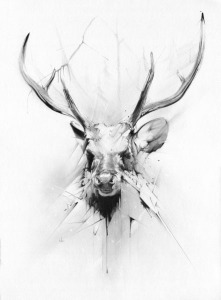 The Stag by Alexis Marcou; for more information, visit http://www.alexismarcou.com/