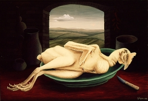 """Dead Chicken"" by Ivan Generalic; for more information, visit http://www.generalic.com/"