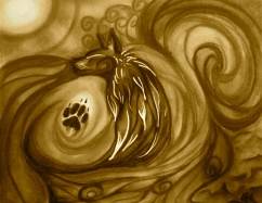 Abstract Wolf Spirit by Lupus Spirit; for more information, visit http://lupusspirit.deviantart.com/