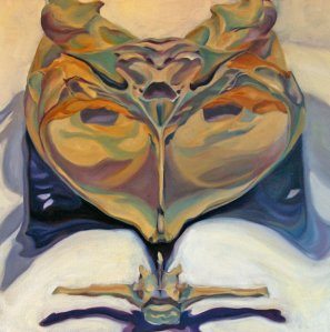 Sea Skull by Evelyn McCorristin Peters; for more information, visit http://www.barkingdogcreationsstudio.com