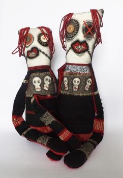 Voodoo Doll by FeedDogz; for more information, visit https://www.etsy.com/uk/shop/FeedDogz